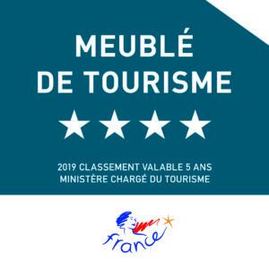 Meublé de Tourisme 4**** - 10 avril 2019