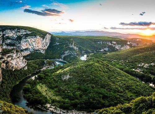 Ardèche - Méandre Gorges Ardèche